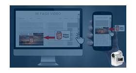 Inpage video ad with HTML5 player revive adserver plugin