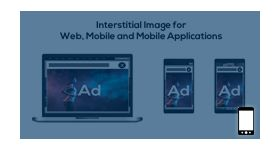 Interstitial image ads plugin
