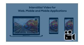 Interstitial video ads plugin