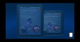 Tablet fullscreen ad